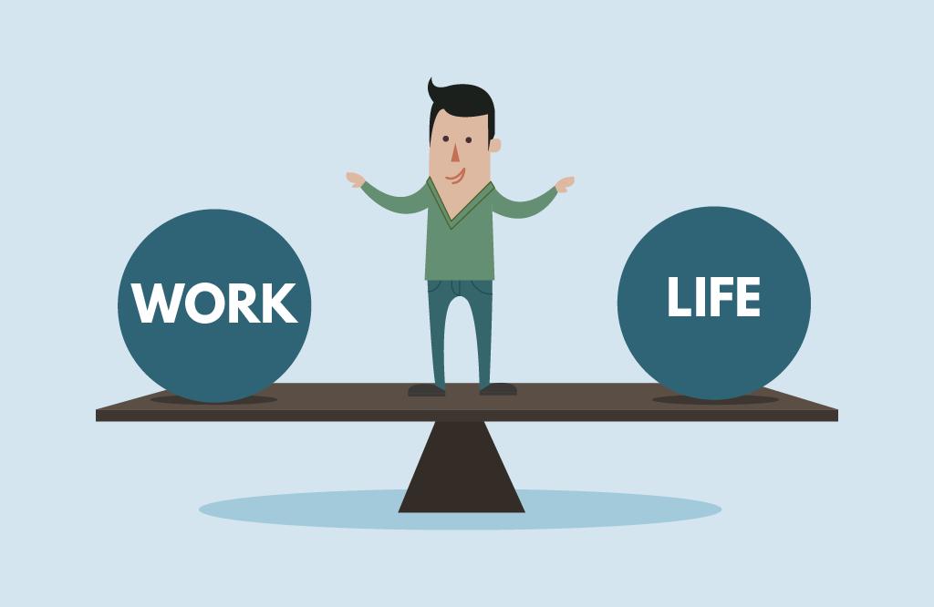 Work Life Balance Vs Life Work Balance Marbles Pr